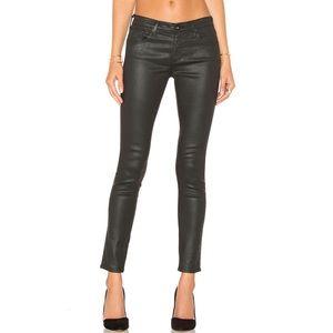 AG Skinny Leatherette Pants
