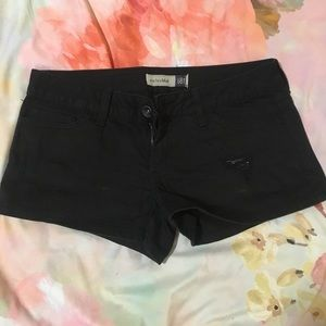 anchor blue Pants - Anchor blue black denim shorts