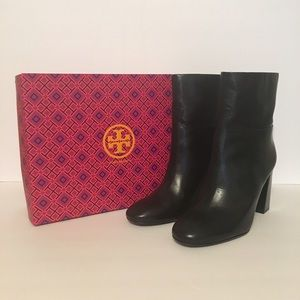 Tory Burch Shoes - NIB TORY BURCH Devon High Heel Booties (Black)