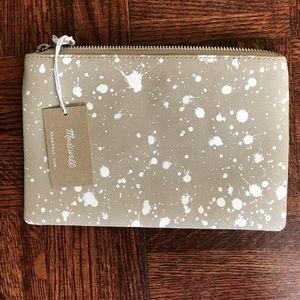 Madewell Handbags - MADEWELL splatter pouch clutch