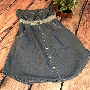 American Rag Dresses & Skirts - American Rag denim jean dress