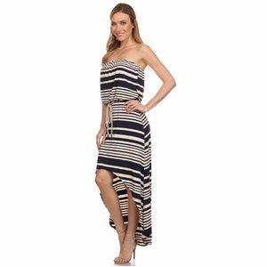 Dresses & Skirts - Rino Stripe Tube High/Low