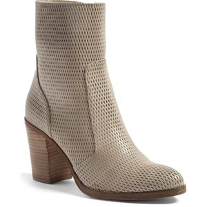 """hinge Shoes - Hinge """"Daphne"""" booties is taupe"""