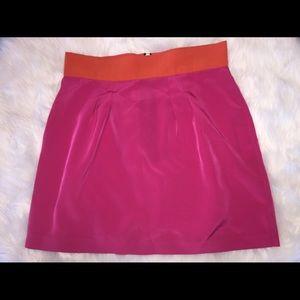 Naven Dresses & Skirts - Naven Pop Pink Orange Crush Two Color Silk Mini