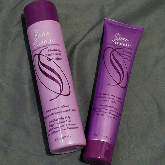 Satin Strands Makeup Shampoo And Conditioner For Extensions Poshmark