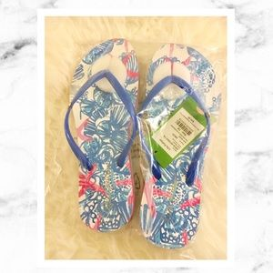 Lilly Pulitzer Shoes - Lilly Pulitzer Pool Flip Flop