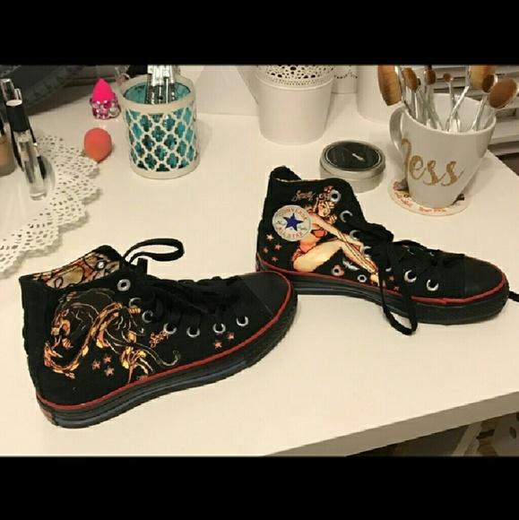 40fbba6e345f Converse Shoes - Rare limited edition Sailor Jerry Converse size 6