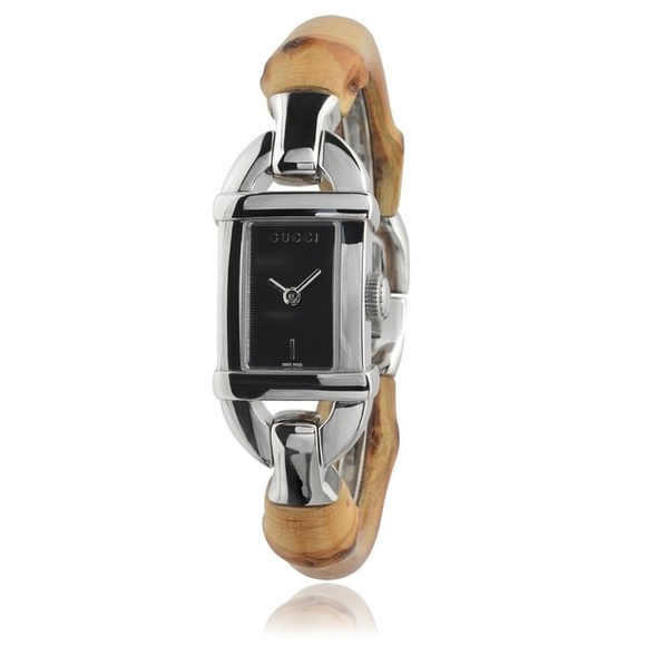 bc97be4ce03 Gucci Accessories - Gucci 6800 Series Ladies Bamboo Watch!