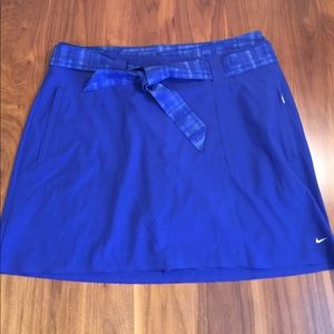 Nike Golf Shorts and Skirt Set