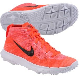 Nike Shoes - NWT Nike FlyKnit Chukka Women's Golf Shoes