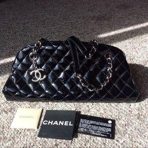 CHANEL Handbags - CHANEL Mademoiselle Handbag Patent Leather