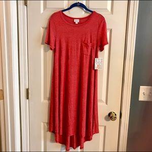 LuLaRoe Dresses & Skirts - LuLaRoe XS *Red* Carly