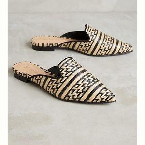 SCHUTZ Shoes - Brand New Schutz Renley Raffia Mule woven Slides