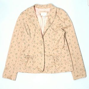 Limited too Jackets & Blazers - LIMITED TOO FLORAL BLAZER