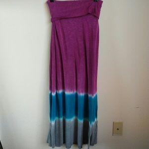 Lucky Brand Dresses & Skirts - Lucky Brand Tie Dye Maxi Skirt