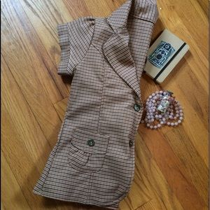 Jackets & Blazers - 🌾EUC🌾 Boutique Plaid Blazer