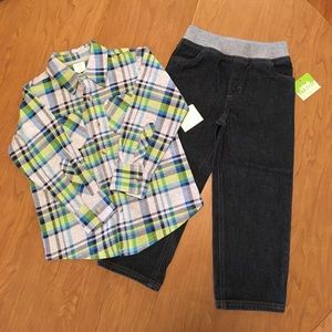 Bonton Other - Mix & Match by Bonton Boys 3T Outfit