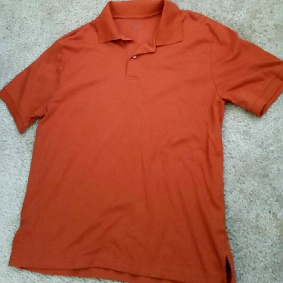 J ferrar men 39 s j ferrar burnt orange polo shirt from for J ferrar military shirt
