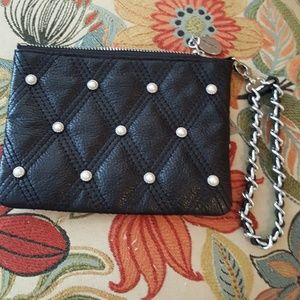 Brighton Handbags - Brighton beautiful pearl beaded  wristlet