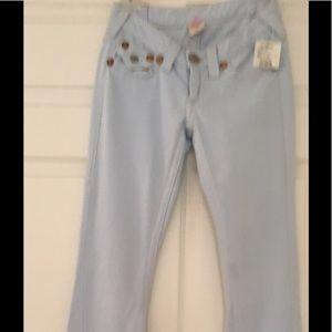 True religion vintage cotton fleece jeans