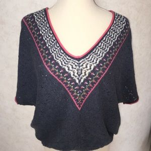 SALE💥Free People Short Sleeved Sweater. XS