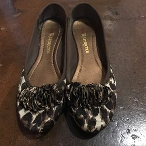 Restricted Shoes - Restricted cheetah flats