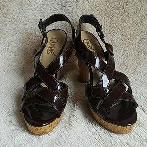 Carlos Santana Shoes - Carlos Santana Strappy Platform Heels