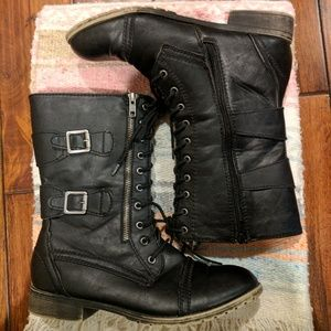 Madden Girl Shoes - Madden Girl Rustiee boots