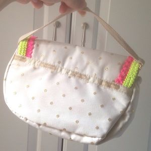 LeSportsac Bags - LeSportac beige clutch