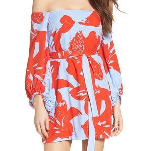 Bardot Dresses & Skirts - Bardot Off the Shoulder Floral Dress