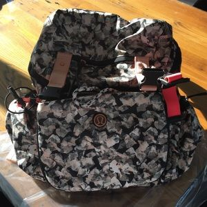 lululemon athletica Handbags - ISO - in search of cross body strap Mystic Jungle