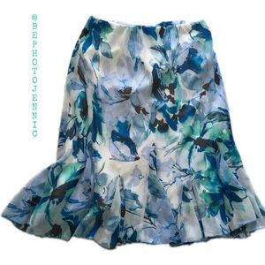 Covington Dresses & Skirts - Covington Size SP blue and white skirt