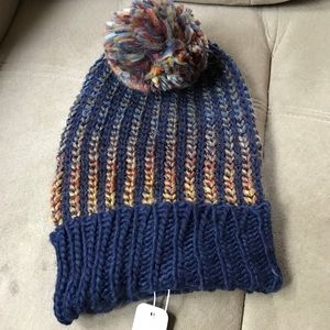 Charming Charlie Accessories - Colorful beanie in blue!