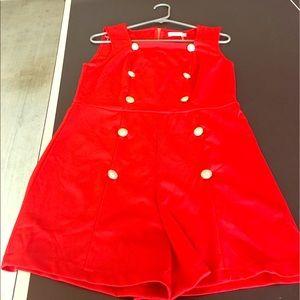 mea eor Pants - Red Jumpsuit