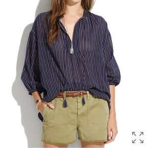 Madewell Tops - Madewell Openview Dotted Tunic