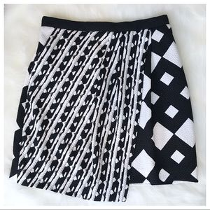 Peter Pilotto Asymmetrical Mini Skirt
