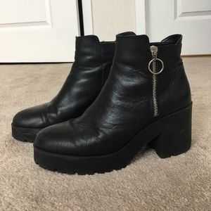 Mango Shoes - Mango Platform Ankle Boot