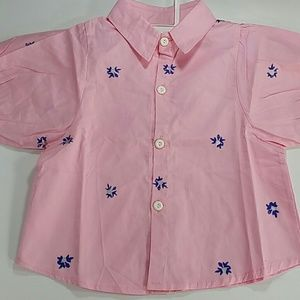 Other - Pink buttoned shirt. Kid
