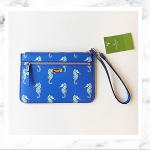 kate spade Handbags - Kate Spade Zip top Seaponies Bag!
