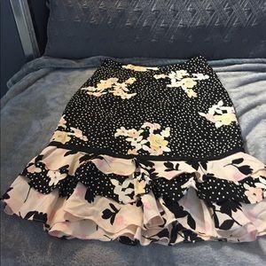 Dresses & Skirts - Spring silk skirt from Banana Republic