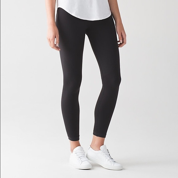 aa4eef5fd lululemon athletica Pants - 🎀Lululemon Flow Crop   Go Tights - 7 8 Length