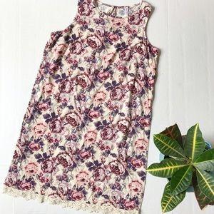 Xhilaration Dresses & Skirts - Xhilaration Floral Shift Dress