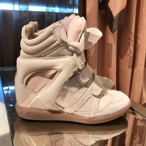 Isabel Marant Wedge Sneakers size 8