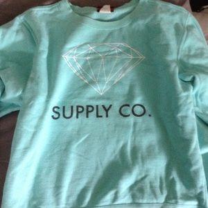 Diamond Supply Co. Sweaters - Diamond Supply Co. Crew Neck EUC