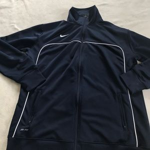 Nike Other - Nike Navy Blue Dri-Fit Zip Up Jacket