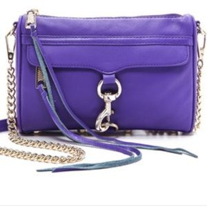 HP 💕 Rebecca minkoff purple cross body