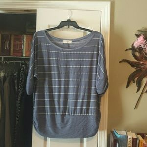 Bluched  Tops - Size 1X top