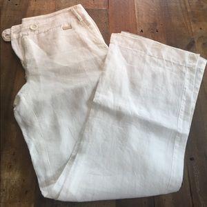 Mango Linen pants 4