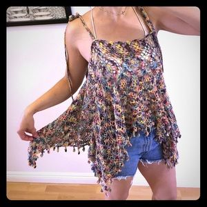 Eternal Sunshine Creations Other - Eternal sunshine creations space dye crochet tank