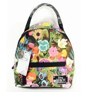 NEW~ Alice in Wonderland Mini Backpack Disney Bag